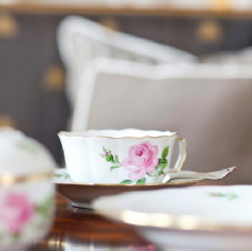 Tableware - Pink Rose